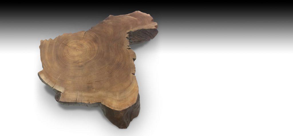 Cliff live edge Suar wood coffee table