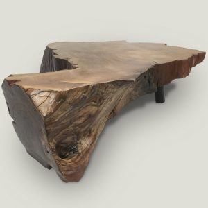 Cliff live edge wooden coffee table