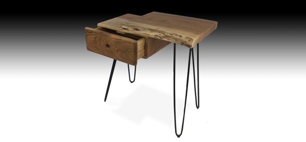 Gandan Acacia wood side table