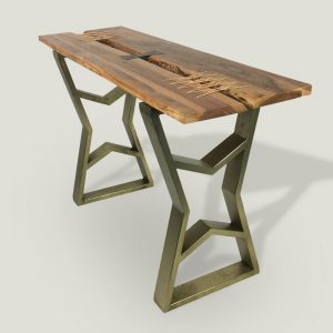 Thanya live edge wooden console table