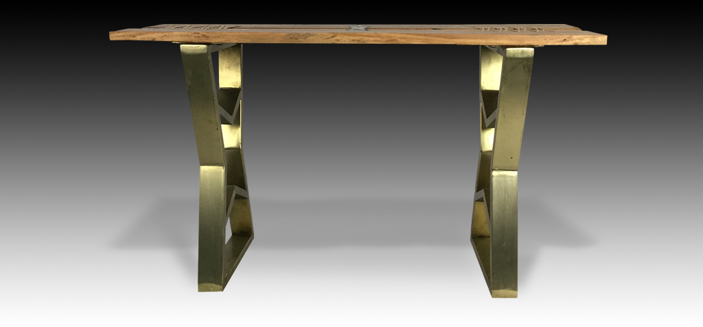 Thanya console table front view