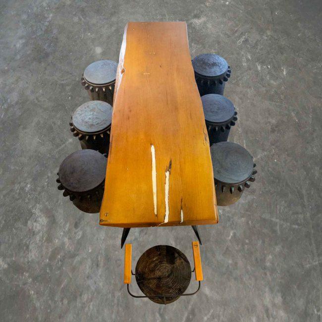 Garfunker teak wood furniture set