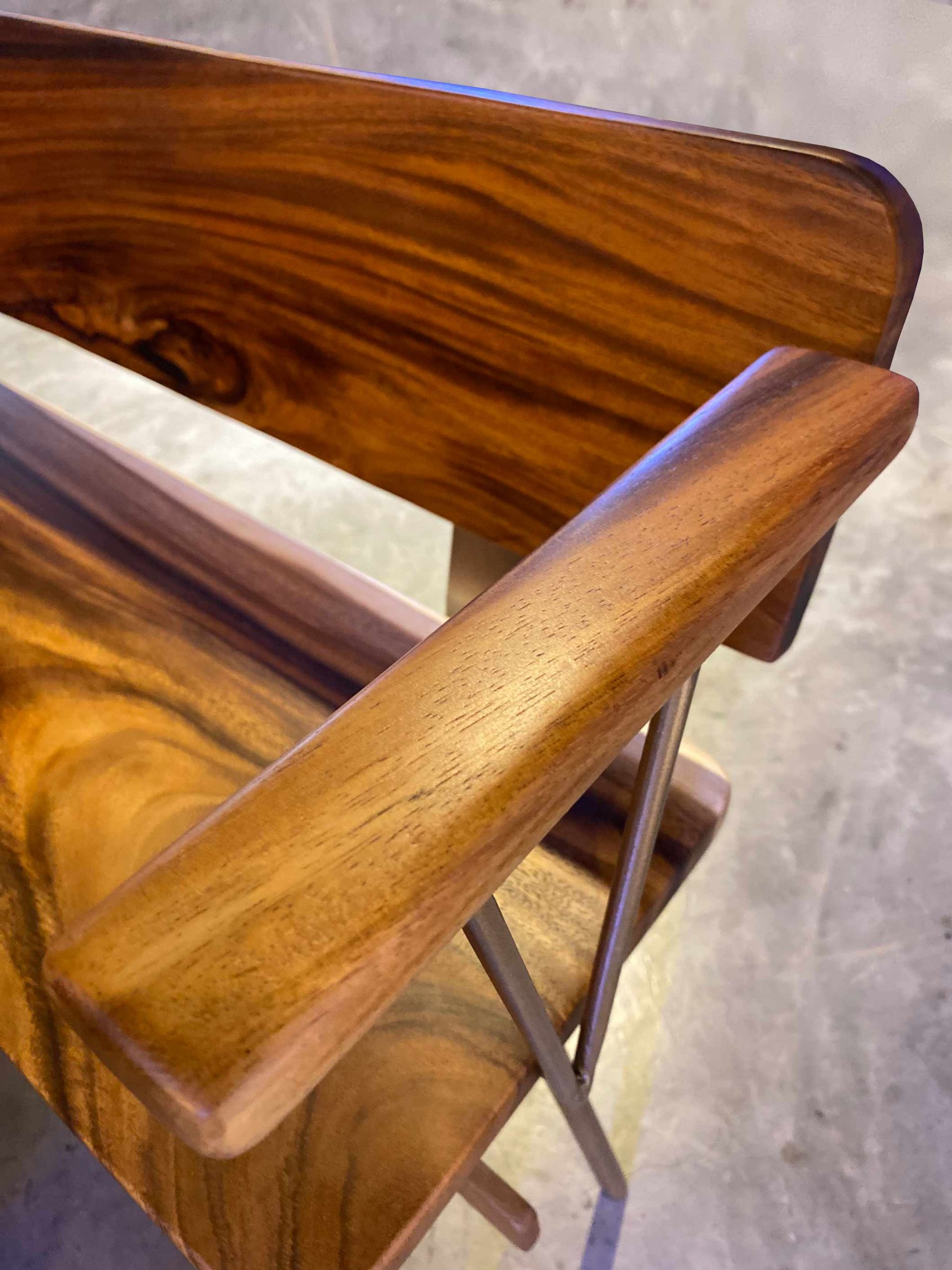 Handcrafted Furniture Singapore Bench Details