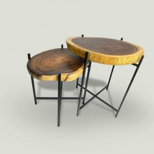 Chase Suar Wood Coffee Table Perspective View 2