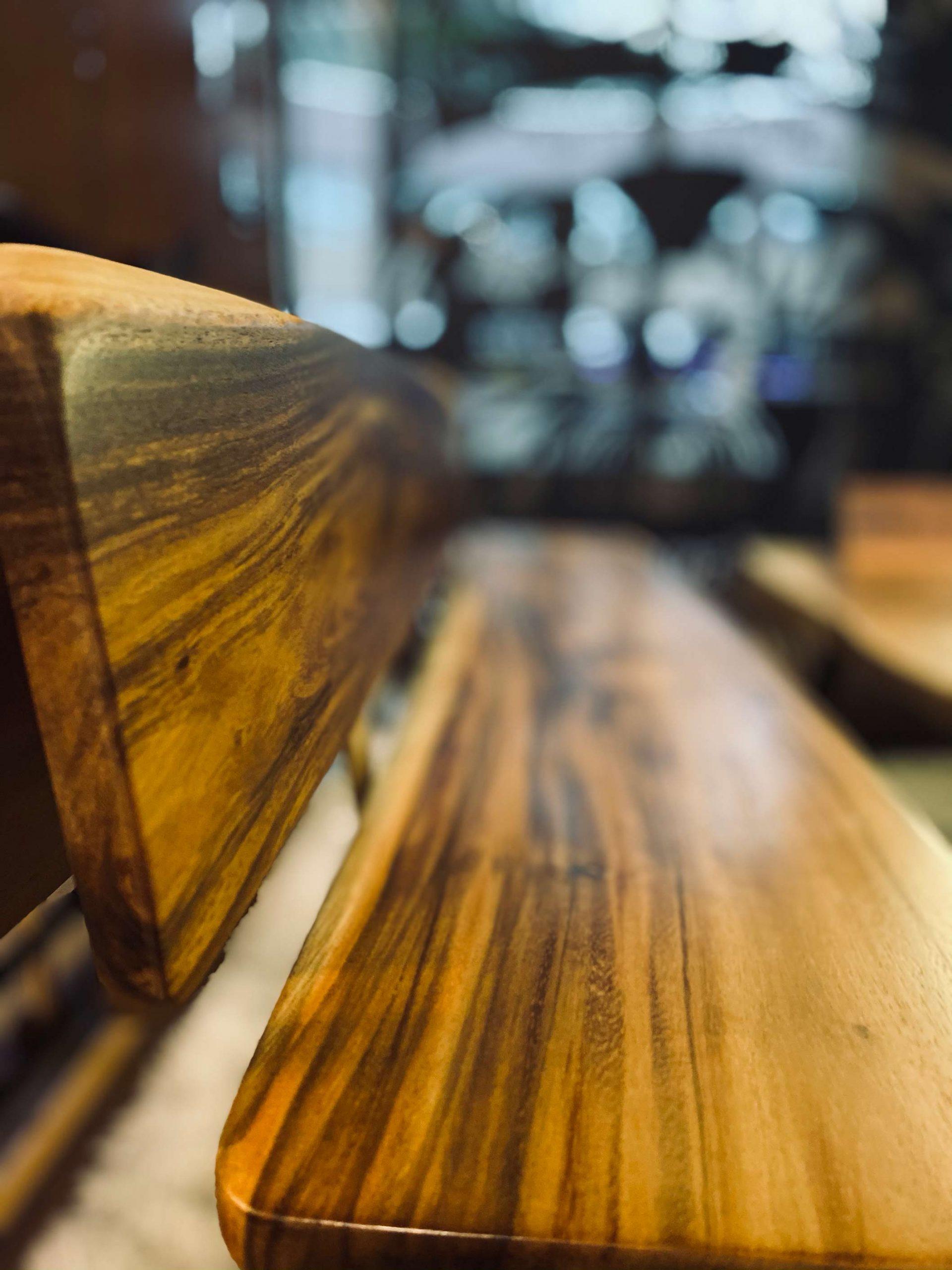 Wooden Bench Back Rest