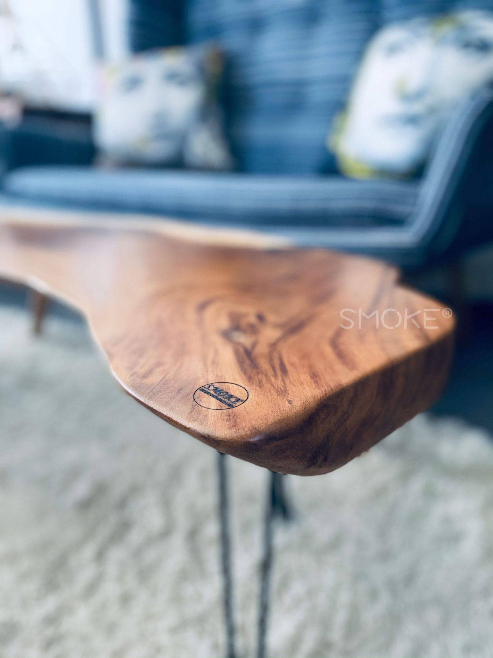 Live Edge Suar Wood Coffee Table