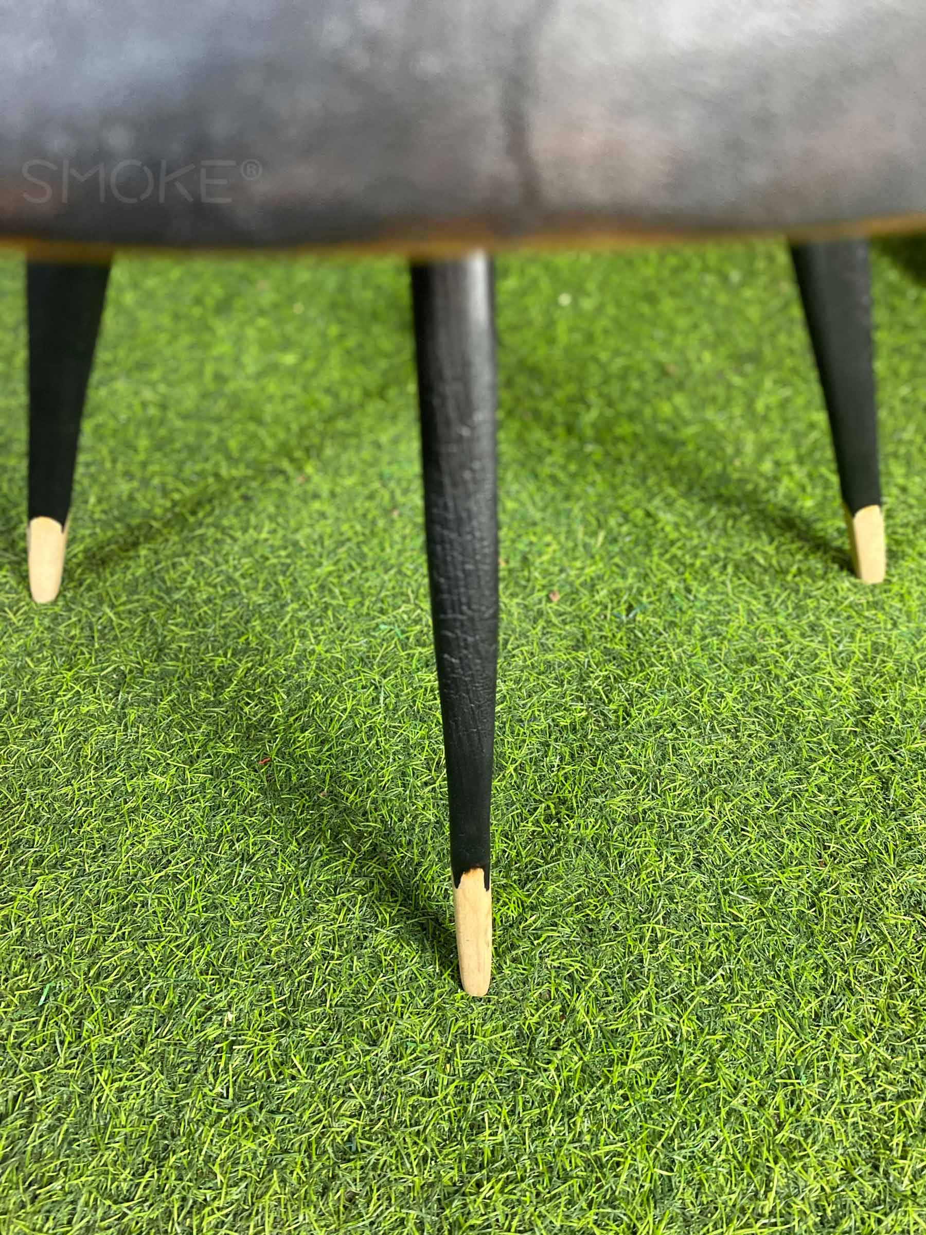 mahogany wooden coffee table leg