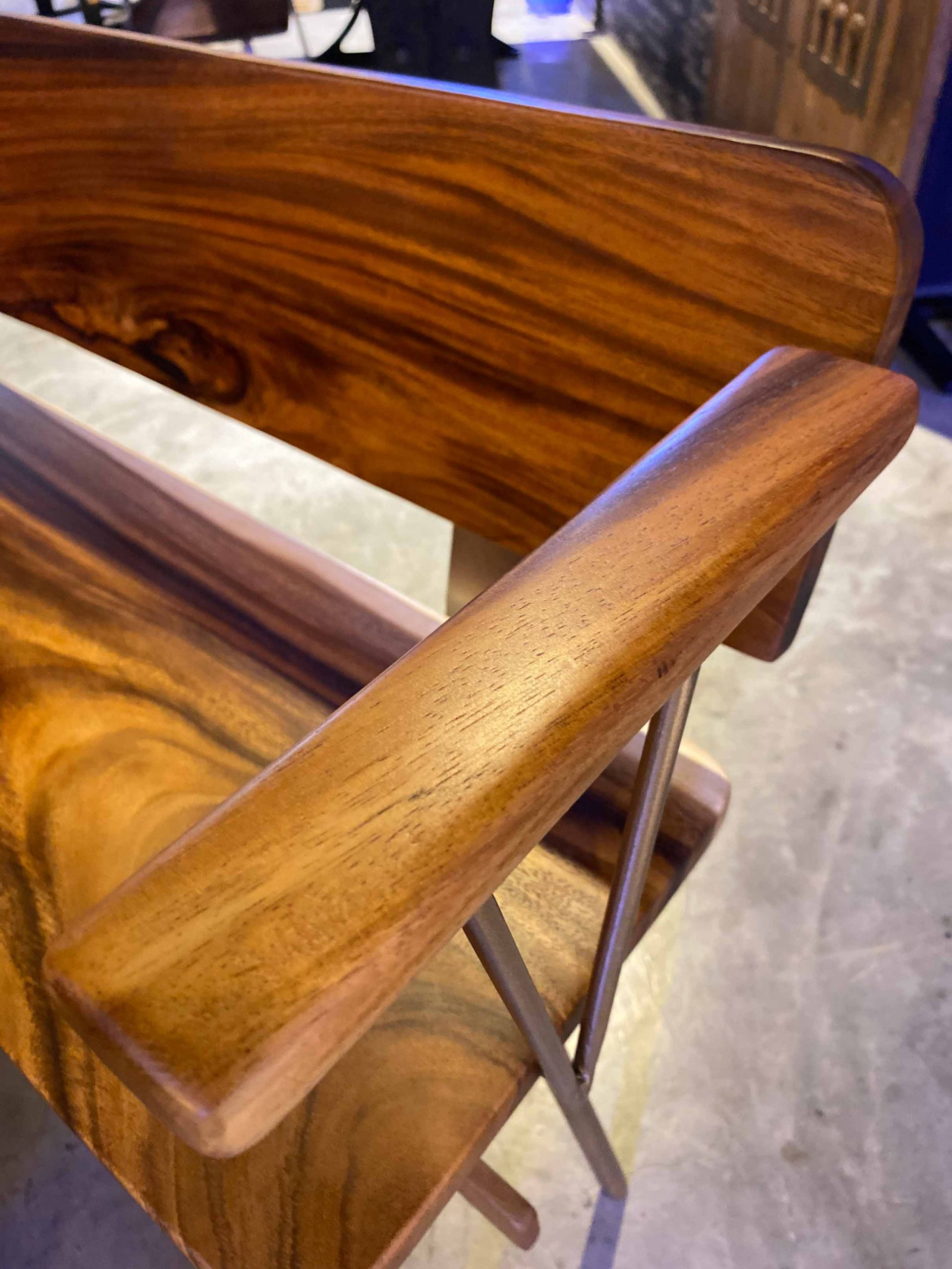 Furniture made of sustainable wood