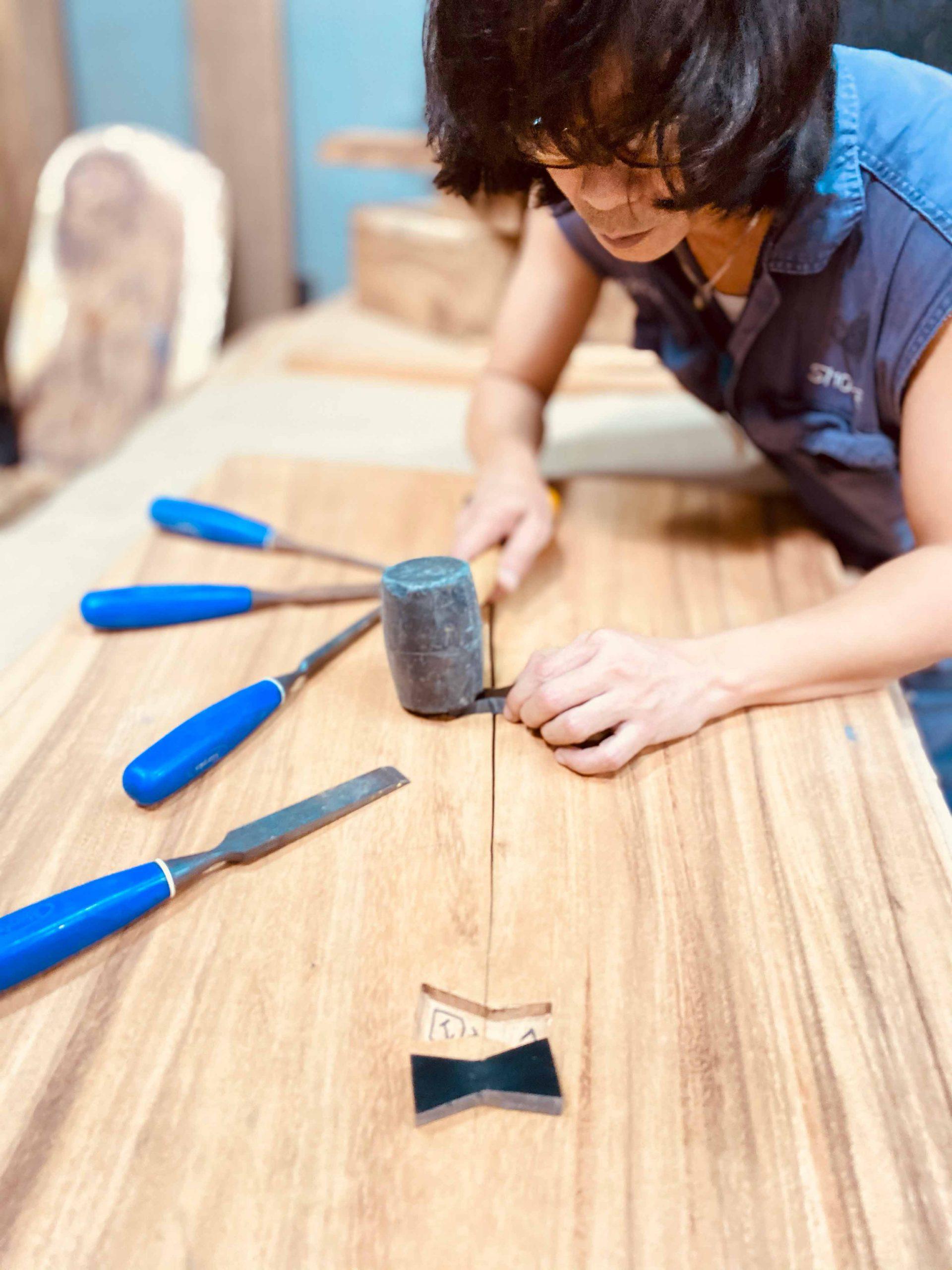 Work in Progress Table on Sustainable Wood