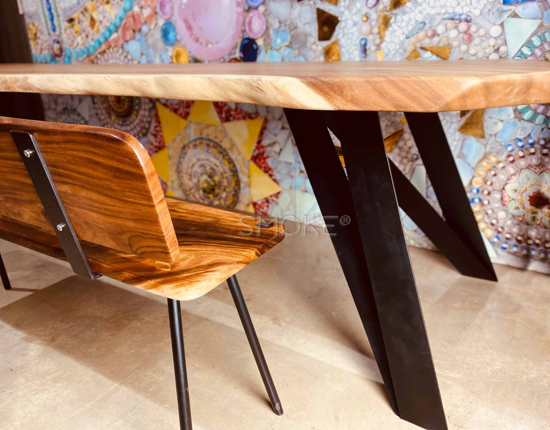 wooden dining table singapore