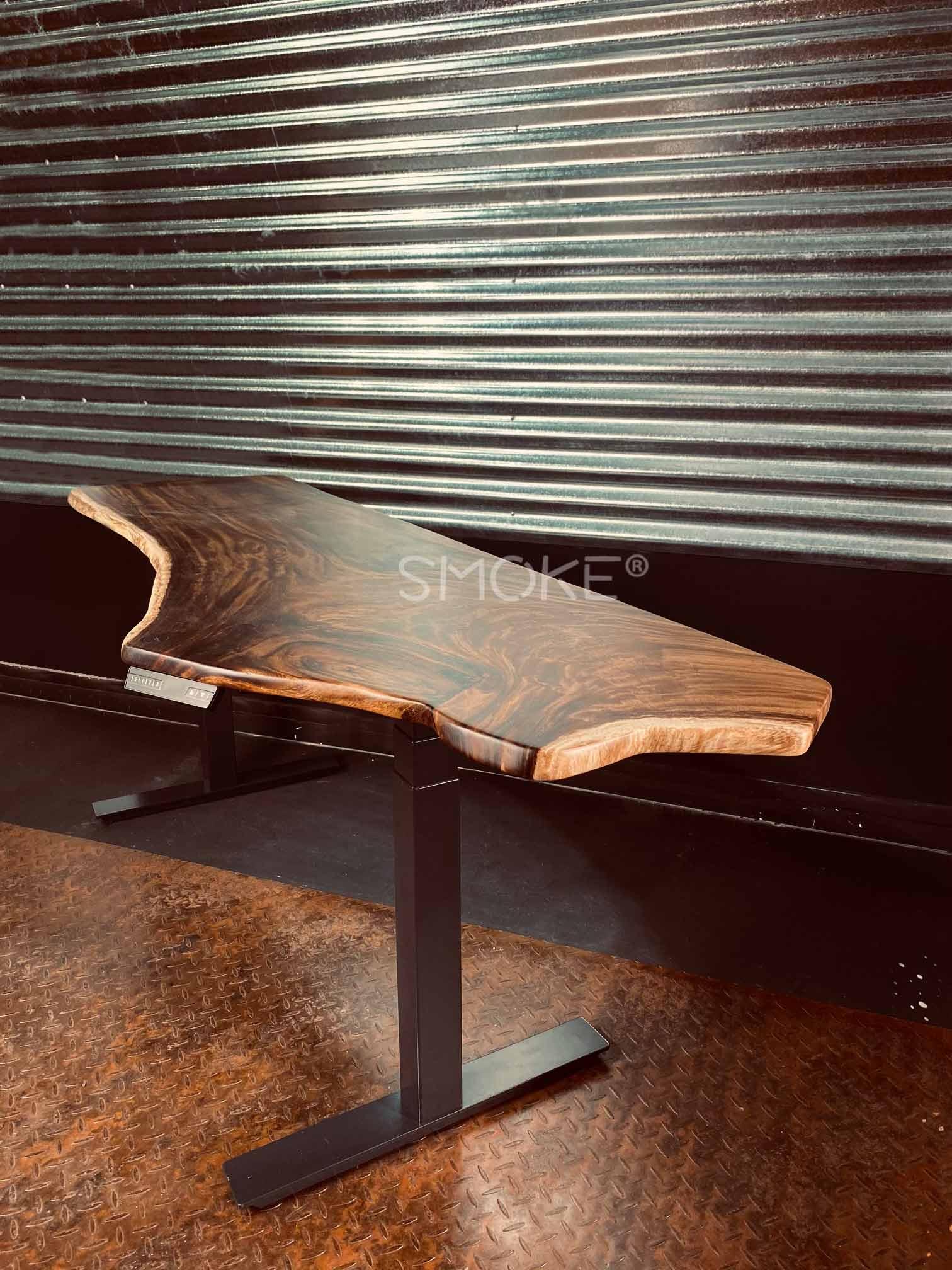 Live Edge Hydraulic work desk