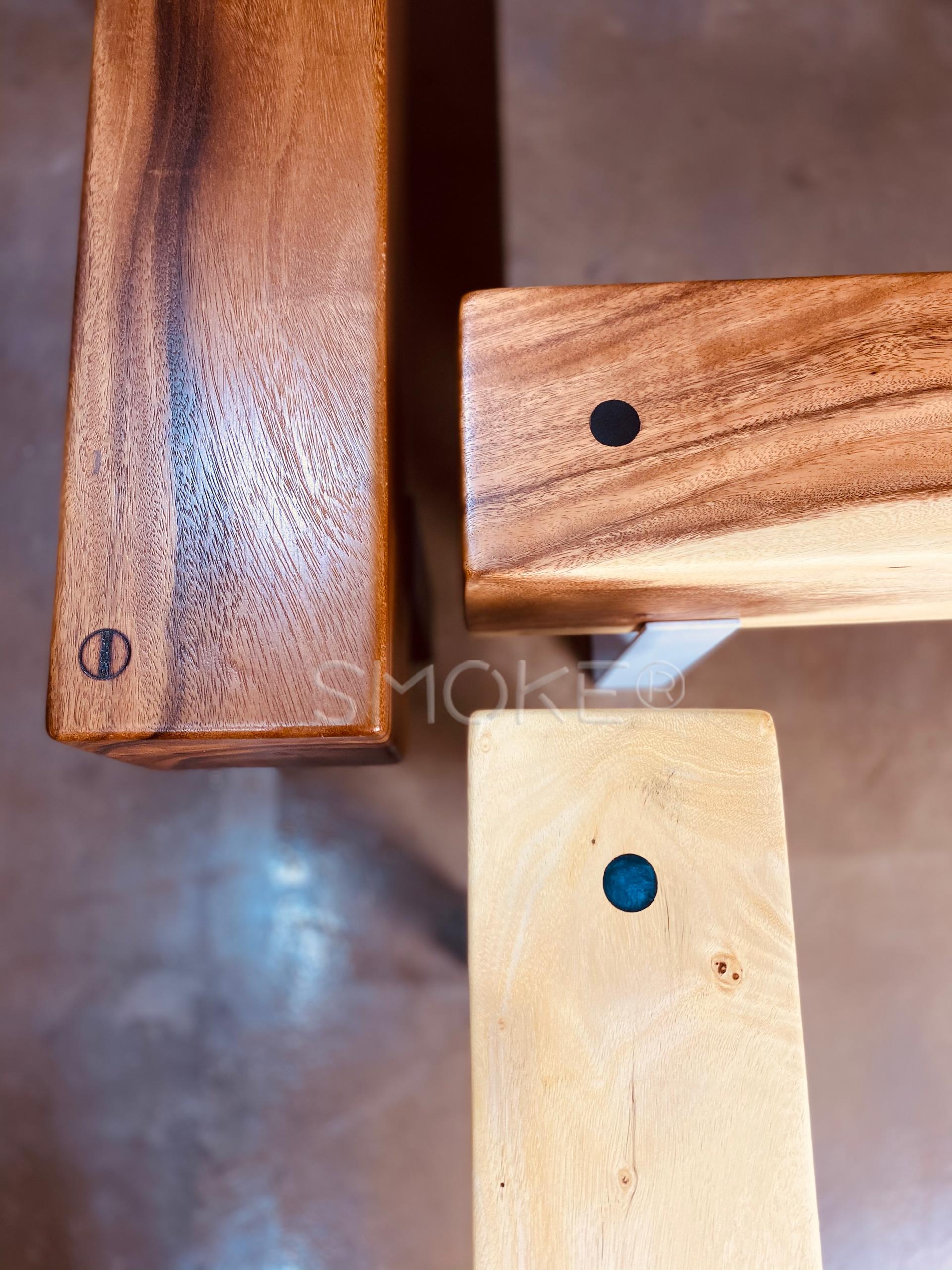 Logan suar wood bench singapore collection