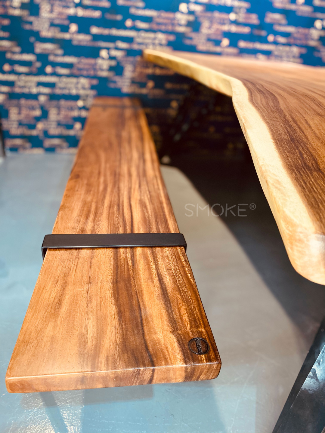 Robson wooden bench