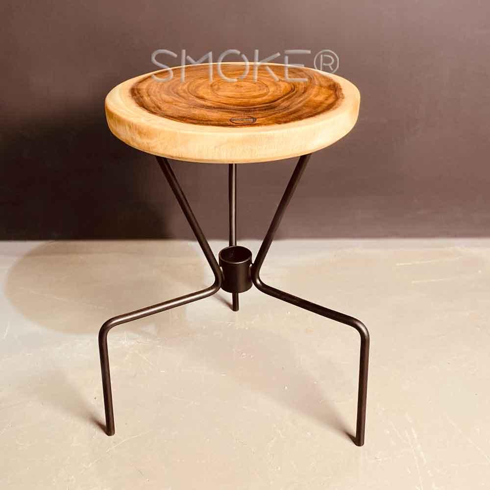 Caleb Suar Wood stool