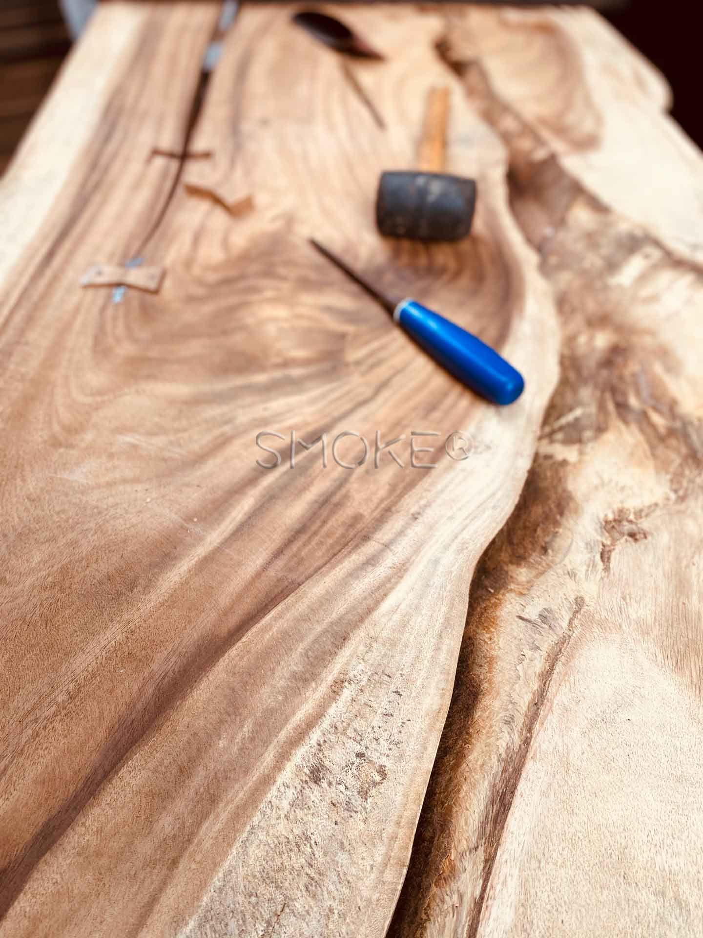live edge handcrafted