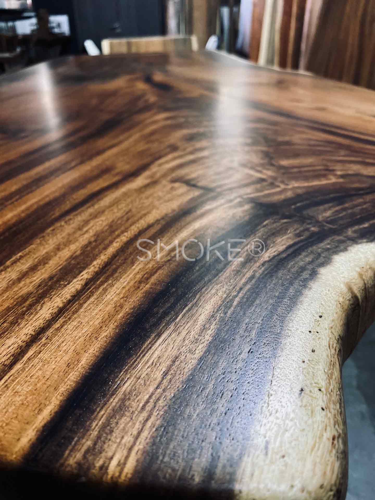 handcrafted customize live edge dining table
