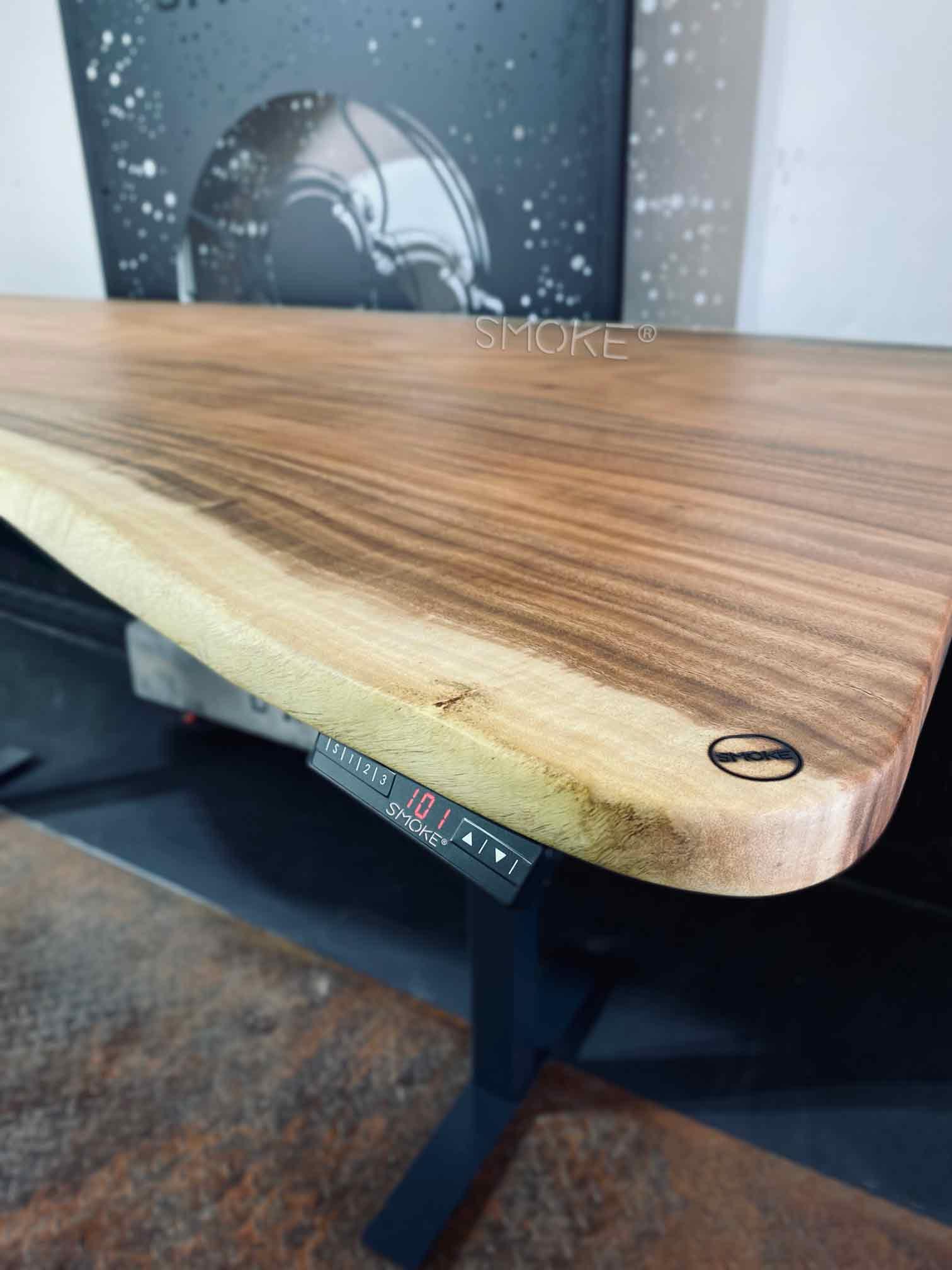 solid wood work desk hydraulic