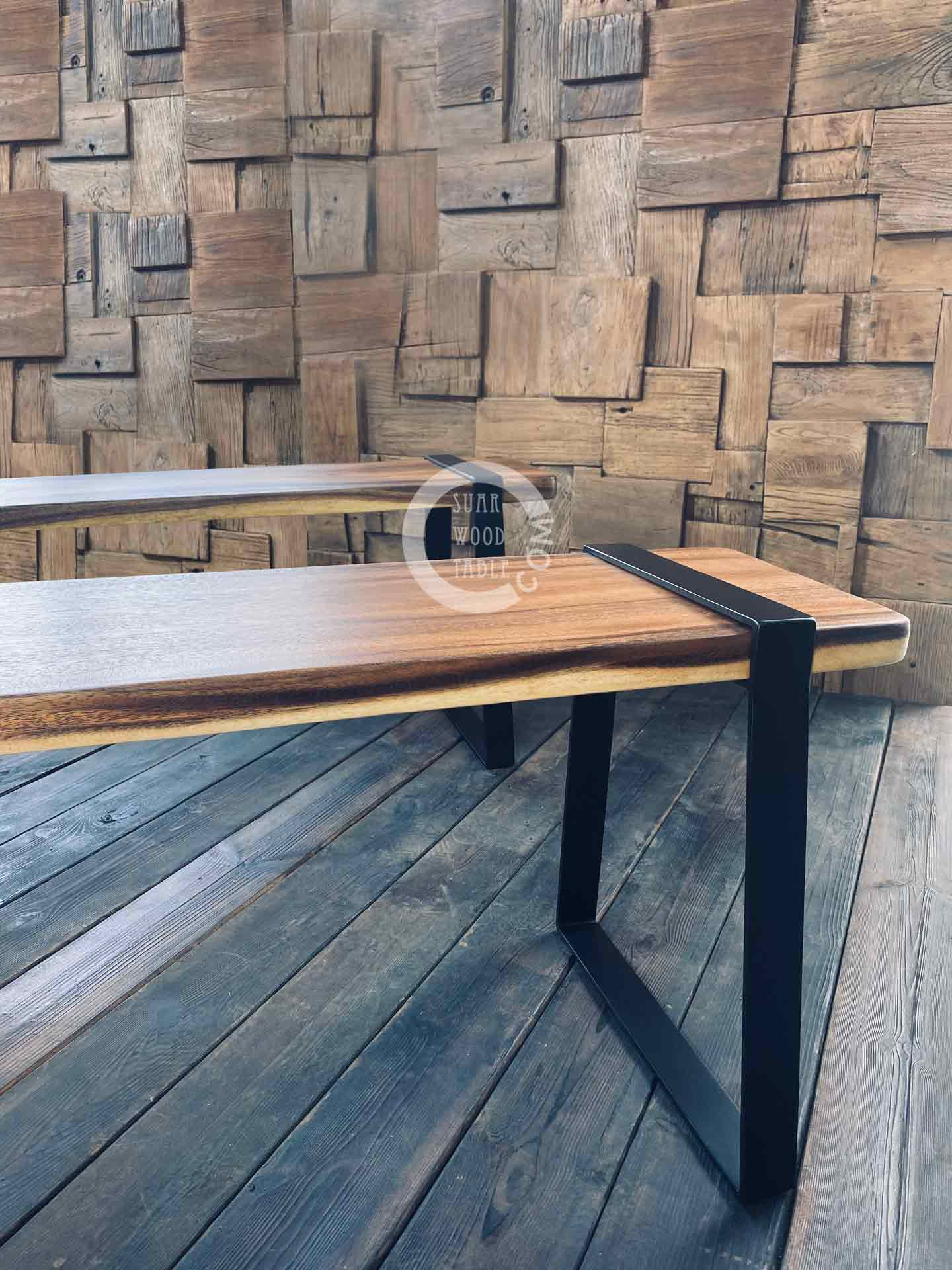 Robson wooden benches