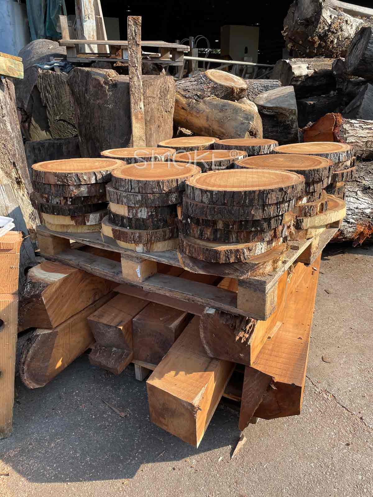 raw material for wooden stool