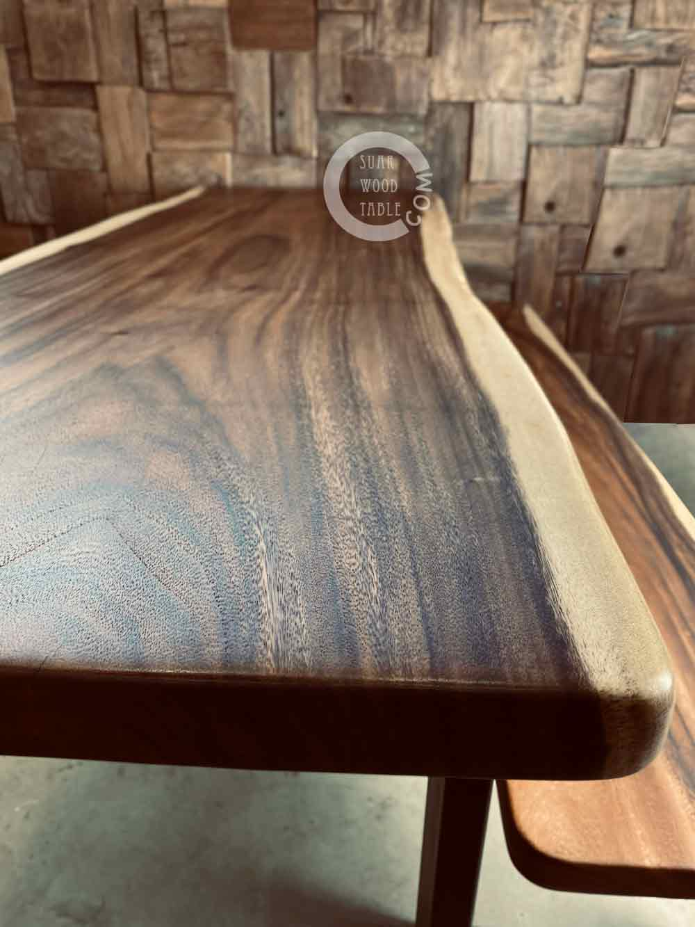 handcrafted dining table
