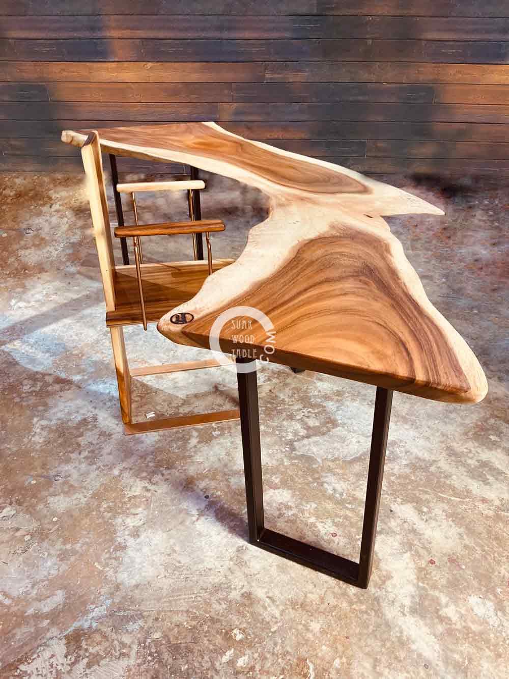 handmade wooden work table